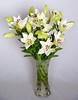 Ramo de Lilium asiático blanco