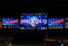 Home Run! (Joe Shlabotnik) Tags: nyc newyorkcity baseball stadium bronx yankees 2009 yankeestadium scoreboard homerun faved september2009 upcoming:event=2544336