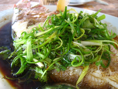 Steamed Fresh Fish - HK$100