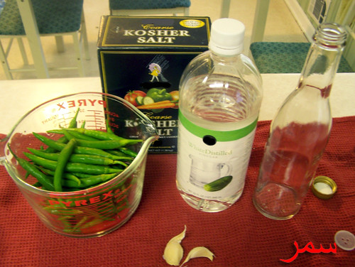 Pepper Sauce Ingredients
