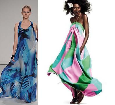 vestidos com estampa