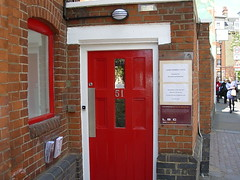 LBC new entrance door with window