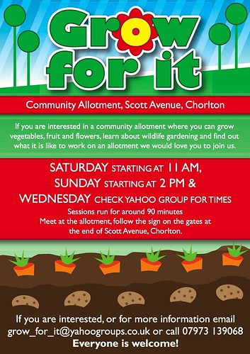 Grow for it: Community Allotment, Scott Avenue, Chorlton