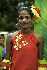 Miss Goa 2009 ! Portrait of a colorful girl at Bonderam in August 2009. (Anoop Negi) Tags: world red portrait woman india color colour sexy girl yellow photography for photo dance eyes media colorful place image photos gorgeous delhi indian bangalore goa creative culture babe images best exotic latin po ritual tradition mumbai anoop 2009 beautifuleyes journalism panjim mandovi negi routine panaji photosof ezee123 bonderam indianbeauty diwar bestphotographer imagesof anoopnegi jjournalism