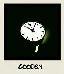 It's too late to say (CoreForce) Tags: clock waitingforthetrain