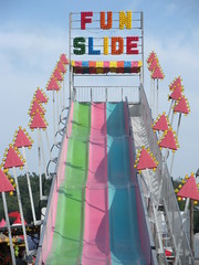 Sussex County Fair AMUSEMENT PARK RIDES Fun Slide (Christian Montone) Tags: newjersey statefair amusementpark rides sussexcounty