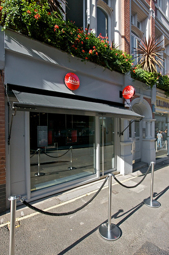 Leica store at Mayfair
