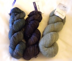 Malabrigo Sock Yarn and Alpaca Sox
