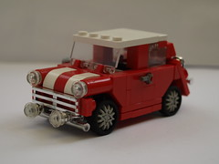Mini Cooper S (Lego guy) Tags: city cars car austin lego mini s rover cooper british morris