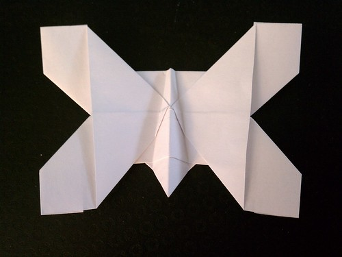 Origami Butterfly Base