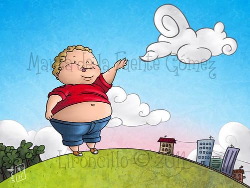 El niño más gordo del mundo