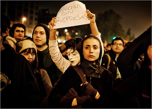 chile-patagonia dam protest