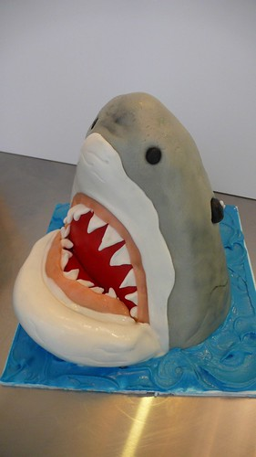 Shark Cake by CAKE Amsterdam - Cakes by ZOBOT