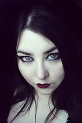 Self (Sombre Dreams Photography) Tags: eyes gothic goth jeanette ardley dagwanoenyent gothicculture