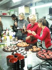 Il gruppo del corso di Sushi 2004