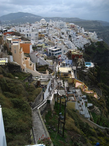 The Town of Fira