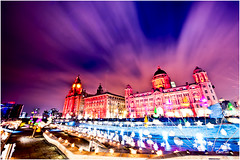 Liverpool - The Transition (petecarr) Tags: night liverpool lights dusk 3graces capitalofculture closingevent