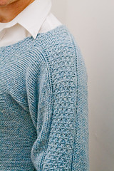 Woven Bands Pullover