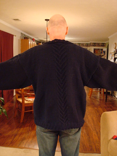 Backbone sweater, back