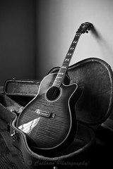 My guitar (John Cothron) Tags: blackandwhite bw music guitar acoustic ibanez musicalinstruments johncothron cothronphotography