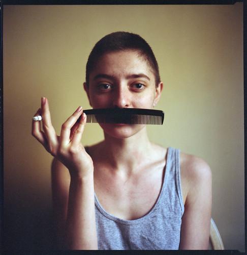 Hitler/Chaplin? by Anna Ritskhe.