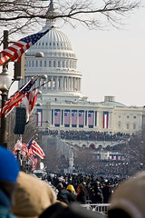 Inauguration Ceremony 2009 (pixelmasseuse) Tags: washingtondc uscapitol 44 barackhusseinobama presidentobama inaugurationday2009