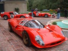 Ferrari 330 P4 and Friends in New Orleans (gswetsky) Tags: 6 car race ferrari 16 november2004 racer v12 250gto redferrari breadvan italiandesign ferrari330p4 redferraris motorsportitalia jimglickenhausberlinetta frenchquarterclassicv 6machine italianmotorsport 6racecar v12powered 16racecar 16machine 6racer worldsportcarchampionship