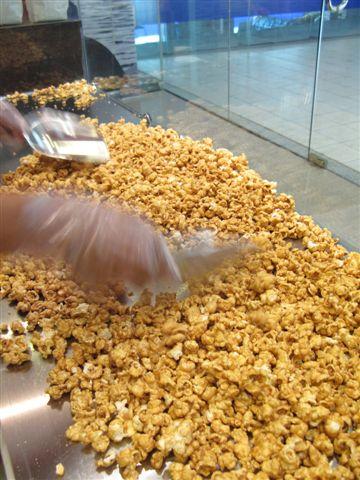 cooling popcorn