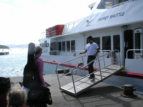 Leaving Petit Martinique
