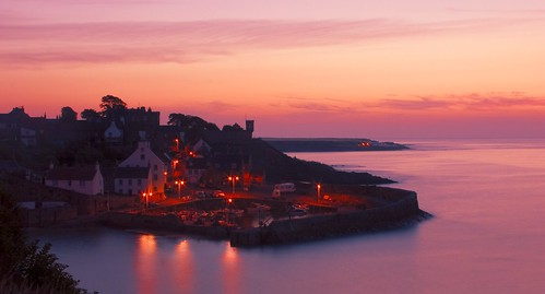 Crail Harbour by Stuart Stevenson