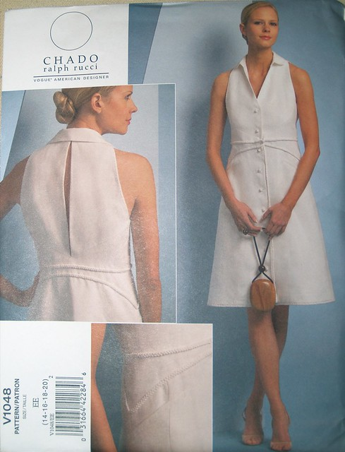 pattern dress sewing vogue sleeveless ralphruccichado