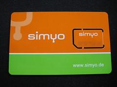 simyo SIM-Karte