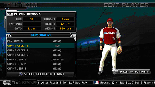 MLB 09 The Show Screenshot Sounds3