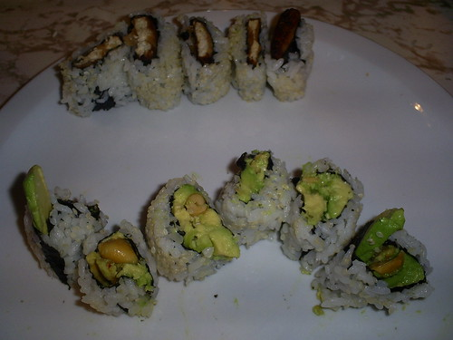 Crunch and Buddha Rolls