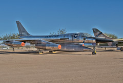 convair b-58a hustler (Matt Ottosen) Tags: arizona museum airplane nikon raw tucson space aviation air pima single hustler hdr convair b58 d90 pimaairspacemuseum photomatix singleraw upcoming:event=1420165