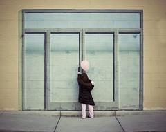 (andrew sea james) Tags: door pink portrait brick girl wall painting 50mm nikon child lasvegas balloon sidewalk nikkor f18 d60