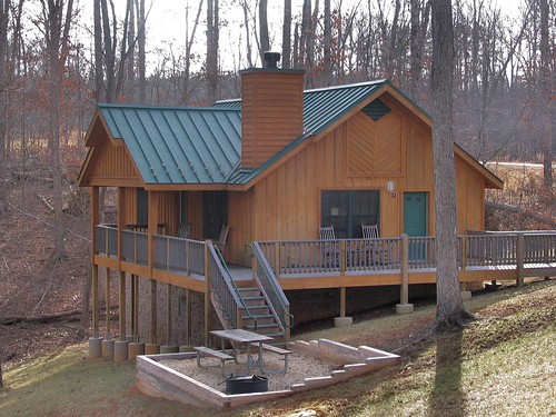 Bear Creek Lake State Park Cabin