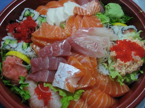 $30 Sushi & Sashimi Tray