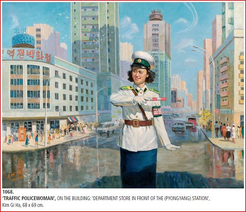 Traffic Policewomen Paintings - Art from North Korea 3286108054_1dc3c91752