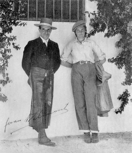 Juan Belmonte y Conchita Cintrón