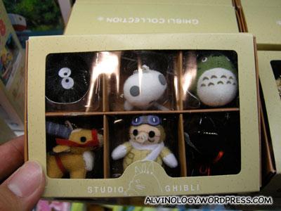 Studio Ghibi toys!