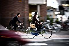 I will race you! (LluisGerard) Tags: bike japan bikes bicicleta cycle bici  pan nara panning jap   japn barrido wp2flickrplugin