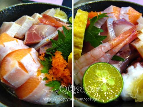 你拍攝的 綜合海鮮丼豪華版2。