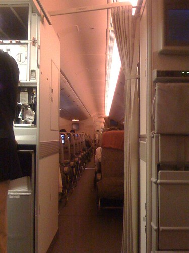 View from Coach On-Board Emirates