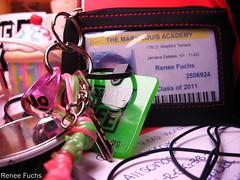 Key chains (Renee Fuchs Photography) Tags: canon paper photography keychain key id powershot ring renee card fuchs lanyard a560