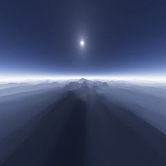 Island in the Sky (zerega) Tags: morning blue light shadow sky sun mist mountain nature berg fog azul skyline montagne sunrise landscape soleil haze nebel bright air horizon himmel aerial berge bleu mount ciel alpine cielo level blinding monte blau sole montaa neblina sonne sonnenaufgang mont aire brilliant luft vapor horizont montano aria cru horizonte brume pea alpin glaring dunst orizzonte bruma nebulous areo arien vaho voyant firmamento calina vapeur montagnard deslumbrante blendend abbagliante grell fascinante accecante aveuglant alucinador encegador lpshadows3