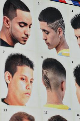 haircut chart