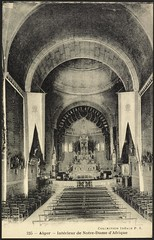 Notre-Dame d'Afrique, Interior View (GRI) (Getty Research Institute) Tags: church basilica altar algiers early20thcentury interiorview notredamedafrique gettyresearchinstitute idale algiersalgeria commons:event=commonground2009
