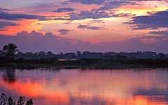 Twilight...at Sukhna Lake (Himalayan Trails) Tags: lake water twilight lakes reflexions chandigarh wetland sukhnalake silt shivalik lowerhimalayas sukhna himalayantrails shivalikfoothills sunsetsandsunrisesgold