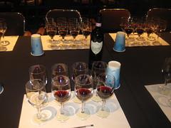 Wine Tasting Setting